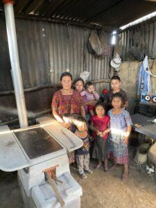 Family with new ONIL stove